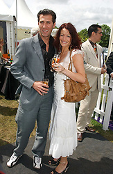 ROBERTO CONTE and JENNY DAVIES at the Kuoni World Class Polo Day at Hurtwood Park Polo Club, Surrey on 28th May 2006.<br /><br />NON EXCLUSIVE - WORLD RIGHTS