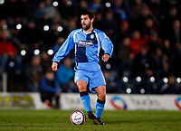 Tommy Doherty of Wycombe Wanderers Wycombe Wanderers Vs Rotherham  United at Adams Park High Wycombe  Football League Div 2<br /> 23/02/2009. Credit Colorsport  / Kieran Galvin