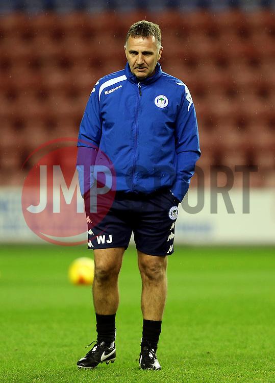 Wigan Athletic manager Warren Joyce - Mandatory by-line: Matt McNulty/JMP - 03/02/2017 - FOOTBALL - DW Stadium - Wigan, England - Wigan Athletic v Sheffield Wednesday - Sky Bet Championship