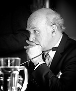 """Rt Hon Vince Cable MP<br /> keynote speech at the Institute of Directors, London, Great Britain <br /> 15th April 2013 <br /> <br /> """"No More than we deserve<br /> The rights & wrongs of high & low pay """"<br /> <br /> Presented by the High Pay Centre and the Resolution Foundation<br /> <br /> <br /> Vince Cable MP <br /> <br /> <br /> John Vincent """"Vince"""" Cable (born 9 May 1943) is a British Liberal Democrat politician who has been the Secretary of State for Business, Innovation and Skills since 2010 and the Member of Parliament for Twickenham since 1997.<br /> <br /> Photograph by Elliott Franks"""