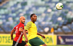 Durban 08-09-18 Ahmad Ben Ali of Libya chasing Sbusiso Vilakazi of Bafana Bafana with the ball during the African Nations qualifier against Libya at Moses Mabhida stedium<br /> Picture Bongani Mbatha African News Agency (ANA)