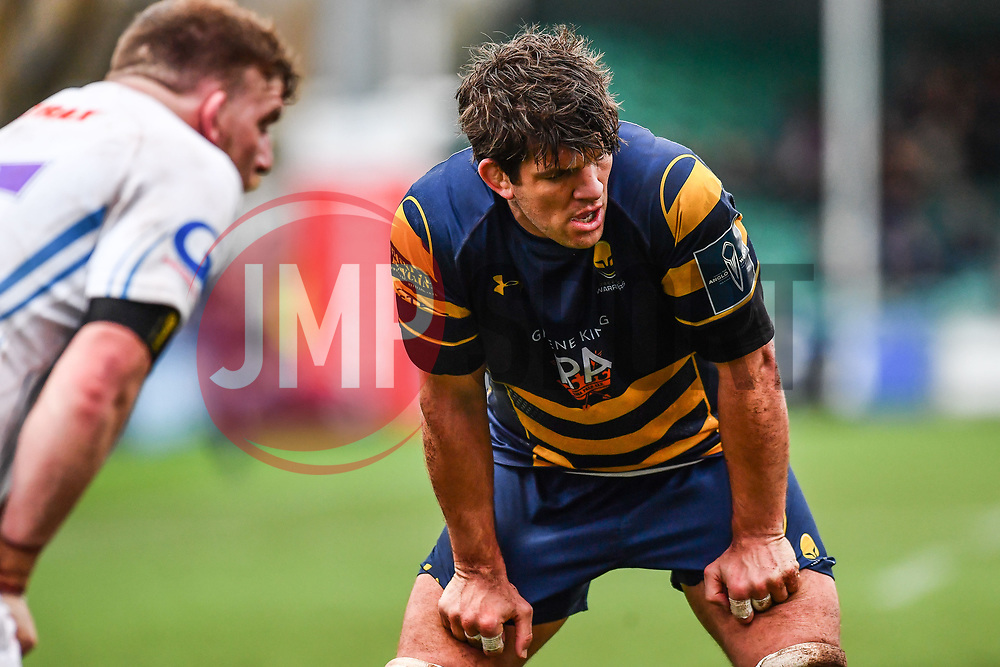 Donncha O'Callaghan of Worcester Warriors - Mandatory by-line: Craig Thomas/JMP - 27/01/2018 - RUGBY - Sixways Stadium - Worcester, England - Worcester Warriors v Exeter Chiefs - Anglo Welsh Cup