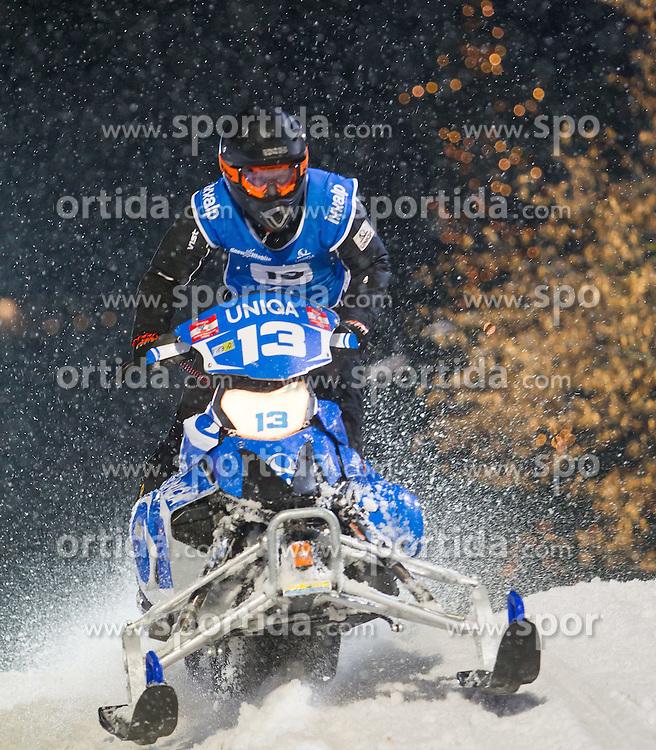 07.12.2014, Saalbach Hinterglemm, AUT, Snow Mobile, im Bild UNIQA Fresacher Racing Team // during the Snow Mobile Event at Saalbach Hinterglemm, Austria on 2014/12/07. EXPA Pictures © 2014, PhotoCredit: EXPA/ JFK