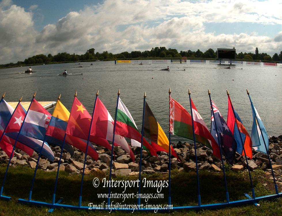 2005 FISA Junior  World Rowing Championships, Brandenburg, GERMANY. Saturday Finals.  06 .08.2005. . © Peter Spurrier/Intersport Images - email images@intersport-images..[Mandatory Credit Peter Spurrier/ Intersport Images] Rowing Course: Brandenburg, Havel Rowing Course, Brandenburg, GERMANY