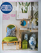 This is a cover from IBB Home magazine. They are the best client ever, and I love to shoot their designers colorful work.