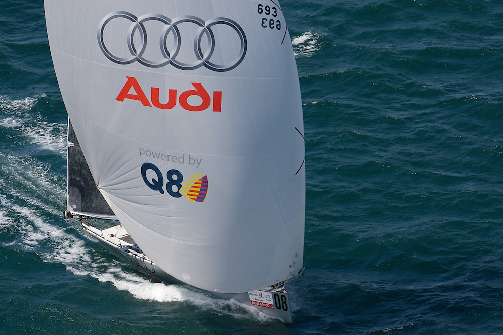 "PORTUGAL, Portimao, September 16th 2008, AUDI MedCup, Portugal Trophy, Race 1, "" Audi TP52 Powered by Q8"""