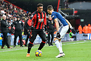 Jordan Ibe (33) of AFC Bournemouth during the Premier League match between Bournemouth and West Bromwich Albion at the Vitality Stadium, Bournemouth, England on 17 March 2018. Picture by Graham Hunt.