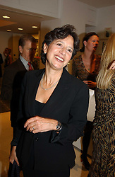 The HON.MRS SHAWCROSS at a party to celebrate the 25th anniversary of leading restaurant Le Caprice held at The Serpentine Gallery, London on 3rd October 2006.<br />