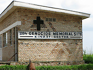 The 1994 Genocide memorial for the Kinazi Sector in southern Rwanda. Genocide memorials are set up across the nation with a national one in Kigali.