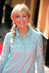 © Licensed to London News Pictures 09/02/2011 London, UK. .Fiona Phillips arrives at the Waldorf Hotel, London for the seventh Tesco Mum of the Year Awards..Photo credit : Simon Jacobs/LNP