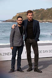 Photocall - Actor Ewan McGregor with Jose Antonio Bayona during the San Sebastian Film Festival, September 27, 2012. Photo By Nacho Lopez / DyD Fotografos / i-Images.SPAIN OUT