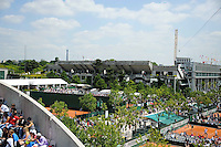 Court central - 27.05.2015 - Jour 4 - Roland Garros 2015<br />