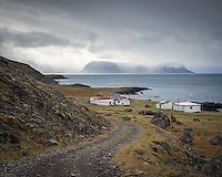 Svalvogar, deserted farm. West fiords of Iceland.