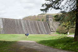 "The Derwent Reservoir where 617 Squadron trained for Operation Chastise the raid on the Ruhr Dams giving the squadron its nick name ""The Dam Busters""<br />