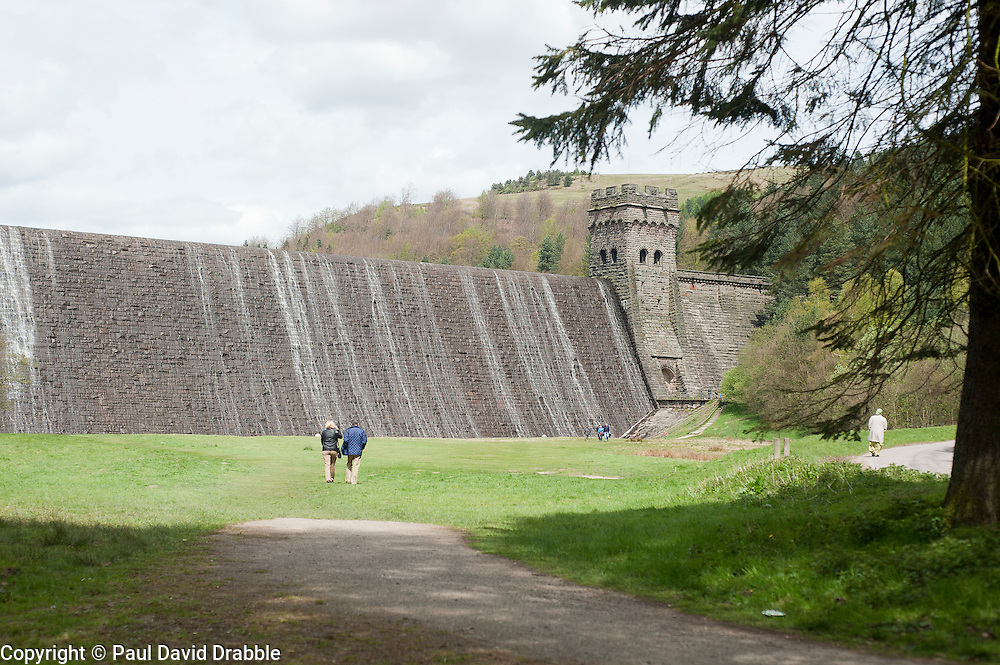 The Derwent Reservoir where 617 Squadron trained for Operation Chastise the raid on the Ruhr Dams giving the squadron its nick name &quot;The Dam Busters&quot;<br />  <br /> 13  May 2012<br /> Image &copy; Paul David Drabble