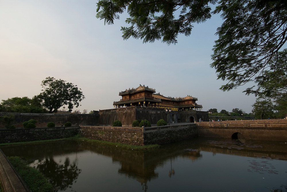 Vietnam: Hue<br /> Entrance to the Citadel (Imperial City), modelled on the Forbidden City in Beijing.