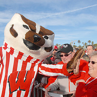 Wisconsin Badgers Rose Bowl Pep Rally