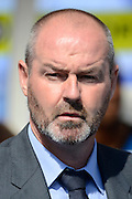 Reading Manager Steve Clarke during the Sky Bet Championship match between Birmingham City and Reading at St Andrews, Birmingham, England on 8 August 2015. Photo by Alan Franklin.