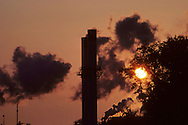 The Industry sector produces the goods and raw materials we use every day. The greenhouse gases emitted during industrial production are split into two categories: direct emissions that are produced at the facility, and indirect emissions that occur off site, but are associated with the facility's use of energy.<br />