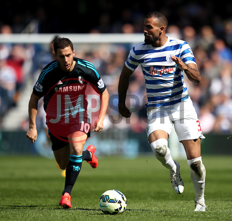 /Queens Park Rangers's Sandro carries the ball forward - Photo mandatory by-line: Robbie Stephenson/JMP - Mobile: 07966 386802 - 12/04/2015 - SPORT - Football - London - Loftus Road - Queens Park Rangers v Chelsea - Barclays Premier League