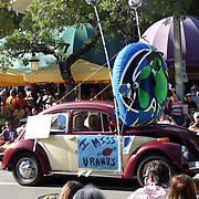 Volkswagen Beetle during the King Mango Strut Parade in Miami, Fl