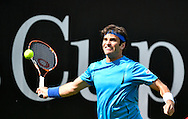 Malek Jaziri during the Mercedes Cup at Tennisclub Weissenhof, Stuttgart<br /> Picture by EXPA Pictures/Focus Images Ltd 07814482222<br /> 06/06/2016<br /> *** UK & IRELAND ONLY ***<br /> EXPA-EIB-160607-0014.jpg