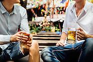 Guys at Beer Garden