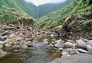 Wailau Valley, Molokai, Hawaii.