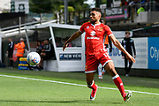 Scott Golbourne (12) of Milton Keynes during the EFL Sky Bet League 1 match between Plymouth Argyle and Milton Keynes Dons at Home Park, Plymouth, England on 9 September 2017. Photo by Graham Hunt.