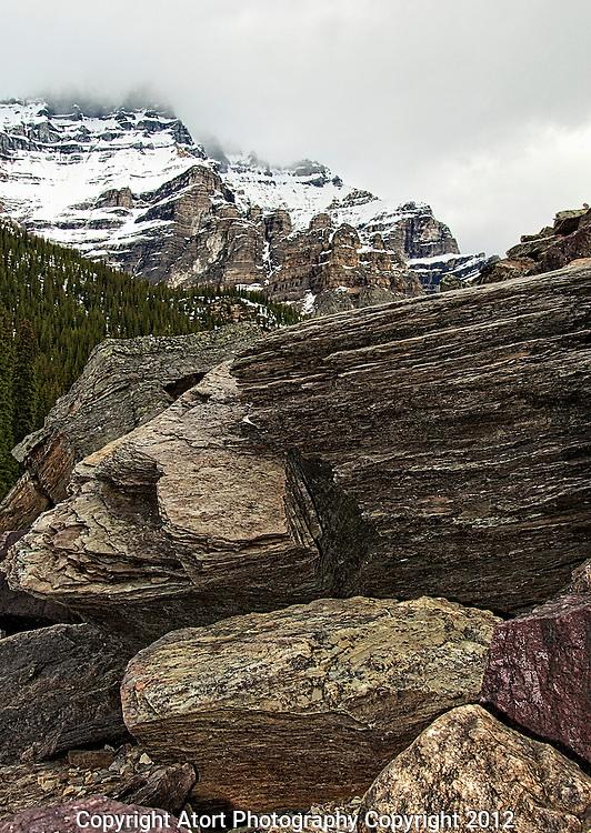 Moraine Lake., British Columbia, canada,