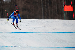 PYEONGCHANG-GUN, SOUTH KOREA - FEBRUARY 21: Sofia Goggia of Italy competes during the Ladies' Downhill on day 12 of the PyeongChang 2018 Winter Olympic Games at Jeongseon Alpine Centre on February 21, 2018 in Pyeongchang-gun, South Korea. Photo by Ronald Hoogendoorn / Sportida