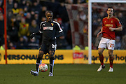 Watford forward Odion Ighalo  during the The FA Cup fourth round match between Nottingham Forest and Watford at the City Ground, Nottingham, England on 30 January 2016. Photo by Simon Davies.