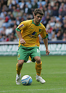 Coventry - Saturday August 9th, 2008: Leon McKensie of Norwich City in action against Coventry City during the Coca Cola Championship match at The Ricoh Arena, Coventry. (Pic by Michael Sedgwick/Focus Images)