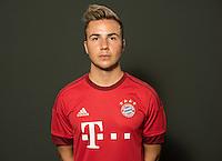 German Soccer Bundesliga 2015/16 - Photocall of FC Bayern Munich on 16 July 2015 in Munich, Germany: Mario Goetze