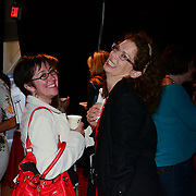 Attendees gather at at 3S Artspace in Portsmouth, NH on May 3, 2013 for TEDx PiscataquaRiver.