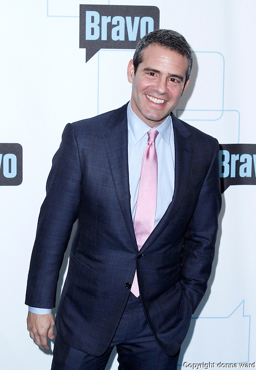 Andy Cohen attends the 2010 Bravo Media Upfront Party at Skylight Studios in New York City on March 10, 2010.