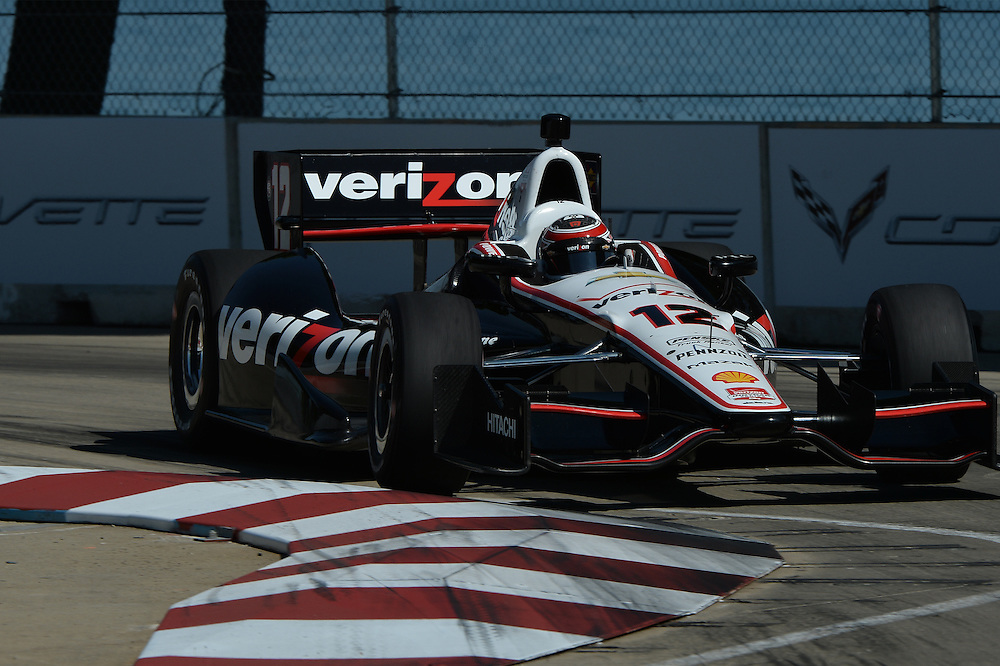 Will Power, Raceway at Belle Isle Park, Detroit, MI USA 6/1/2014