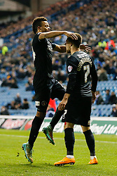 Johann Guomundsson of Charlton Athletic celebrates scoring a goal to make ot 1-1 - Photo mandatory by-line: Rogan Thomson/JMP - 07966 386802 - 04/11/2014 - SPORT - FOOTBALL - Leeds, England - Elland Road Stadium - Leeds United v Charlton Athletic - Sky Bet Championship.