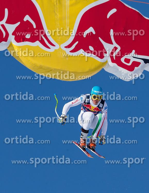 24.01.2013, Streif, Kitzbuehel, AUT, FIS Weltcup Ski Alpin, Abfahrt, Herren, 3. Training, im Bild Christof Innerhofer (ITA) // Christof Innerhofer of Italy in action during 3th practice of mens Downhill of the FIS Ski Alpine World Cup at the Streif course, Kitzbuehel, Austria on 2013/01/24. EXPA Pictures © 2013, PhotoCredit: EXPA/ Johann Groder