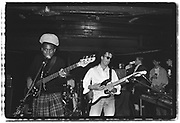 John Beales' Wedding, Thekla, Bristol, 1985 (Sean Oliver on bass (Rip, Rig & Panic), Roger pomfrey on guitar, Bruce Smith on drums (Pop Group), Nellee on the cut, MC Willie Wee) (1)