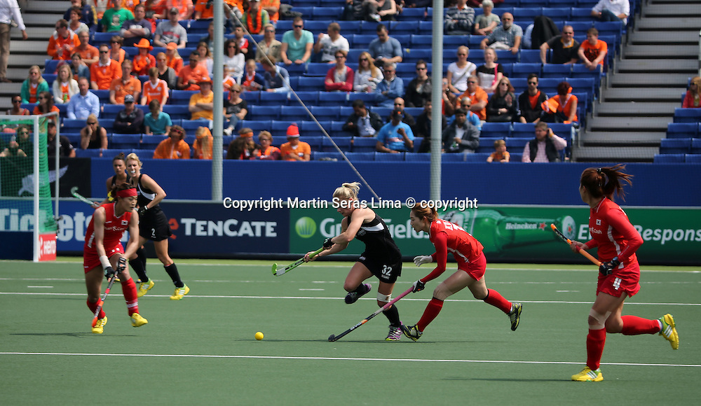 Anita Punt - Korea v New Zealand - Women's Hockey World Cup 2014 - The Hague - Netherlands - Photo Martin Seras Lima