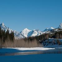 glacier national park, flathead river valley