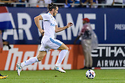 CHICAGO, IL - AUGUST 02: Real Madrid forward Gareth Bale (11) drives towards goal with the ball in the second half during a soccer match between the MLS All-Stars and Real Madrid on August 02, 2017, at Soldier Field in Chicago, IL. The game ended in a 1-1 tie with Real Madrid winning on penalty kicks 4-2. (Photo By Daniel Bartel/Icon Sportswire)