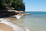 Landscape photographs of Lake Superior, Pictured Rocks National Lakeshore, Michigan, USA