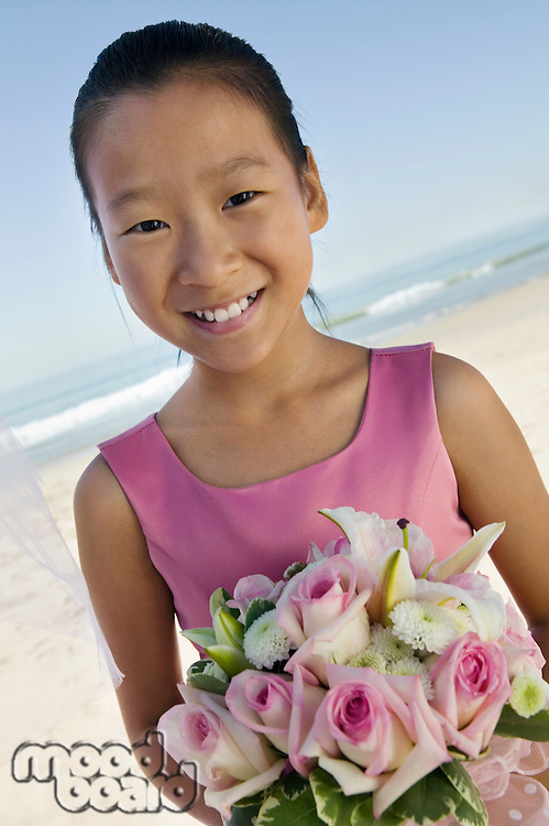 Sister of Bride on Beach