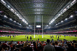 General View intside the Millennium Stadium - Mandatory byline: Rogan Thomson/JMP - 07966 386802 - 02/10/2015 - RUGBY UNION - Millennium Stadium - Cardiff, Wales - New Zealand v Georgia - Rugby World Cup 2015 Pool C.