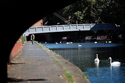 UK ENGLAND LEICESTER 30JUN15 - Bridges across the river Soar at Leicester city.<br /> <br /> jre/Photo by Jiri Rezac / WWF UK<br /> <br /> © Jiri Rezac 2015