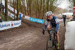 Lucie Chainel-Lefevre (FRA), Women, Cyclo-cross World Cup Hoogerheide, The Netherlands, 25 January 2015, Photo by Pim Nijland / PelotonPhotos.com