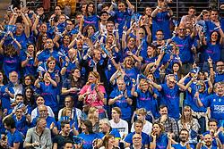 18-05-2019 GER: CEV CL Super Finals Igor Gorgonzola Novara - Imoco Volley Conegliano, Berlin<br /> Igor Gorgonzola Novara take women's title! Novara win 3-1 /  Novara support