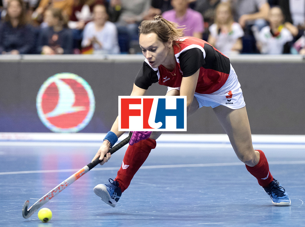 BERLIN - Indoor Hockey World Cup<br /> Quarterfinal 3: Germany - Poland<br /> foto: GROTEK Paulina.<br /> WORLDSPORTPICS COPYRIGHT FRANK UIJLENBROEK